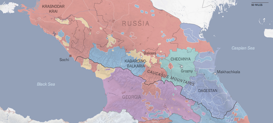 The linguistics of the Caucasus