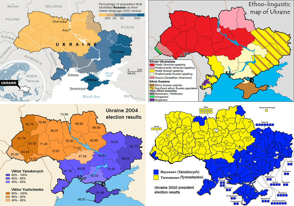 A divided Ukraine