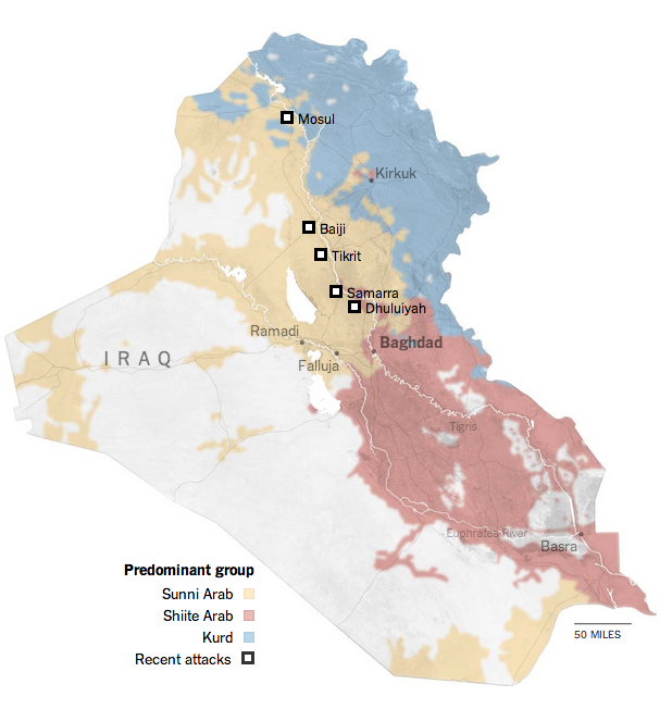 The Shia–Sunni–Kurdish divide