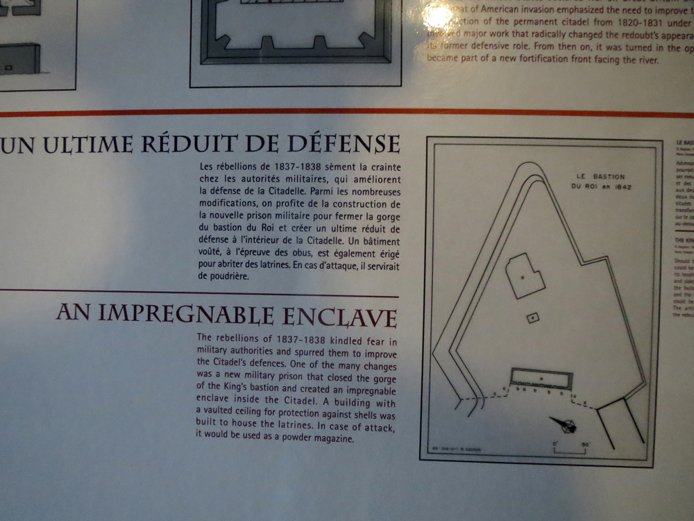 Redoubt in Bastion du Roi