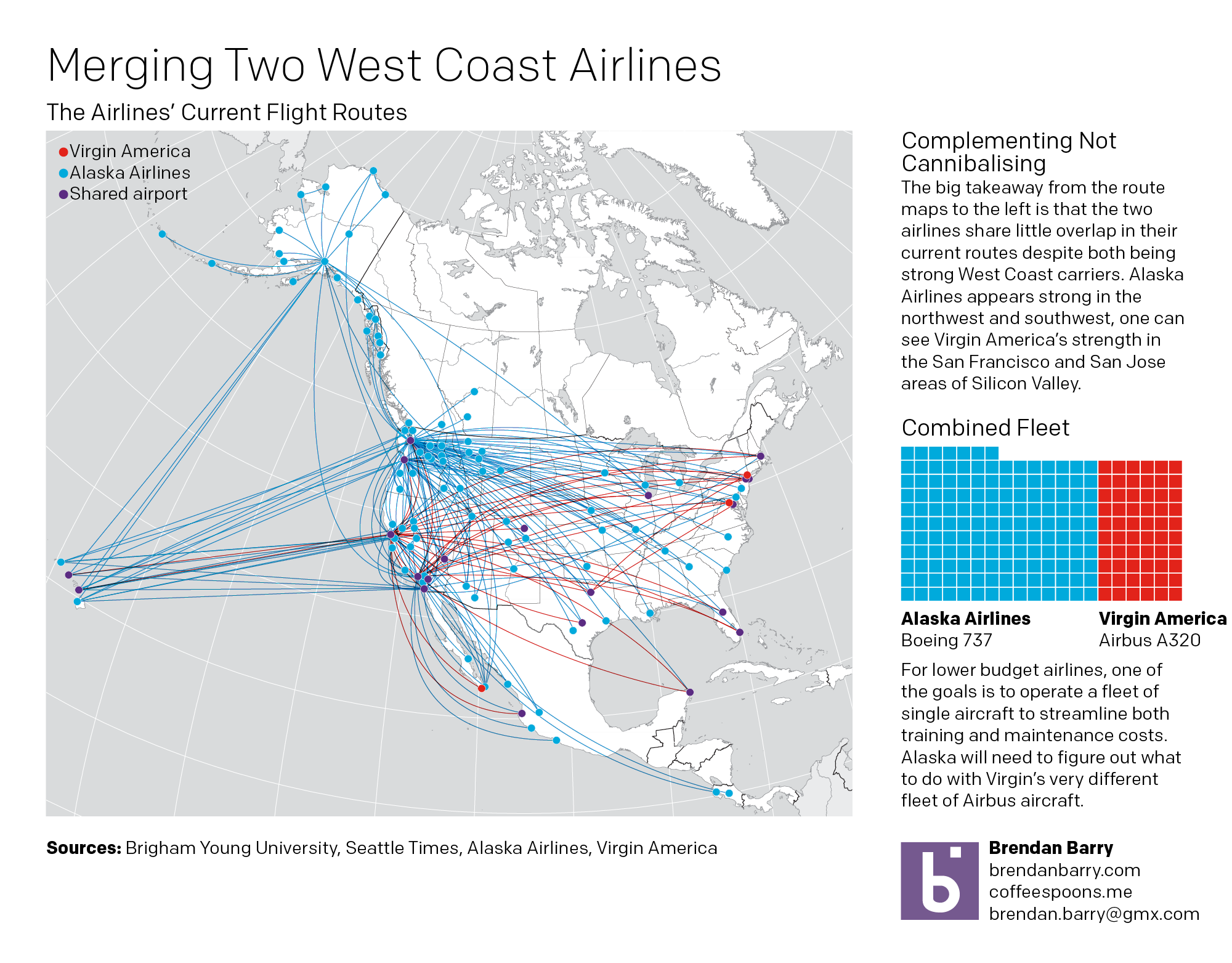 A brief look at the merger of Alaska Airlines and Virgin America