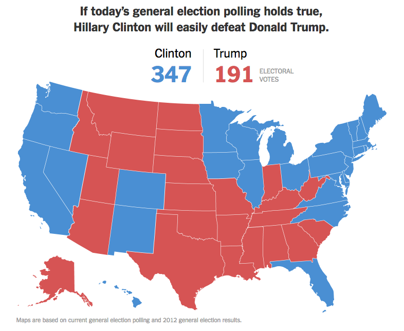 The early polling