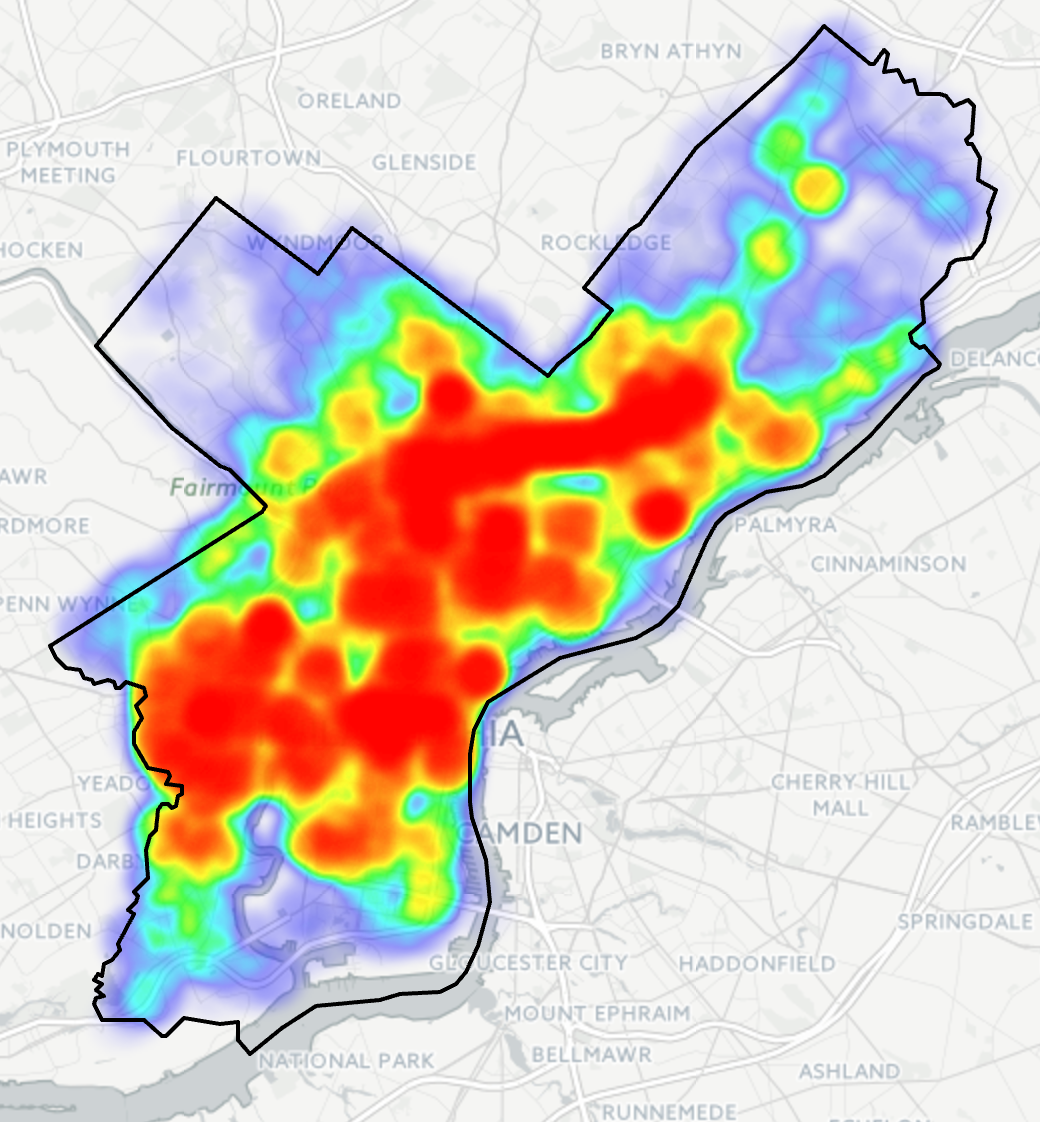 Traffic Map Philadelphia traffic – Coffee Spoons