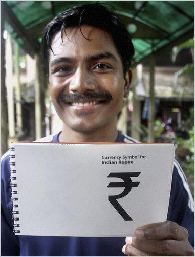 New Rupee Symbol and Its Designer