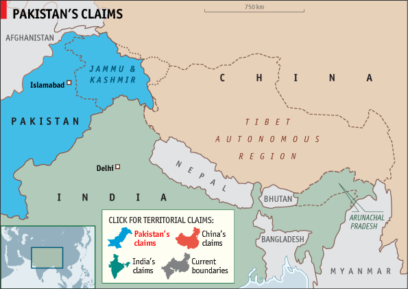 The Pakistani claim