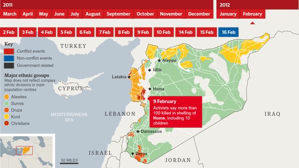 Syria on 9 Feb 2012