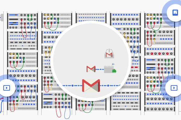 How an e-mail gets from A to B