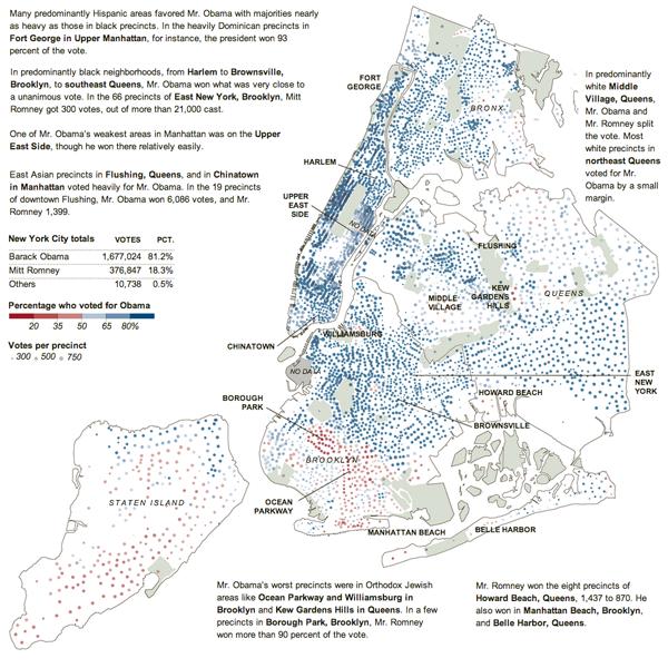New York City Precinct Results