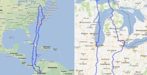 The United States compared to Chile