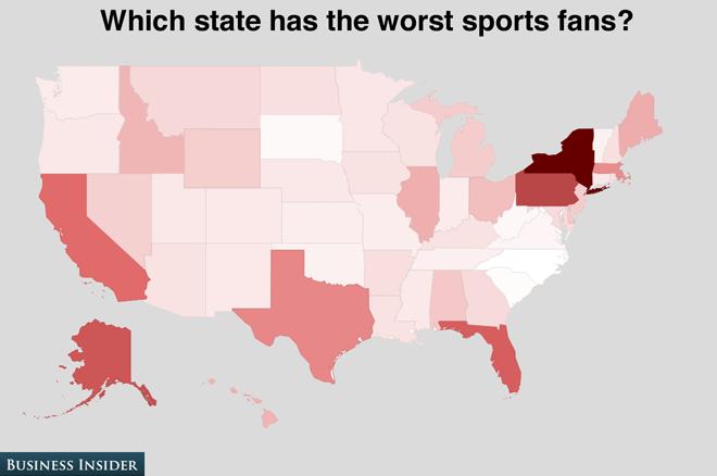 Worst sports fans