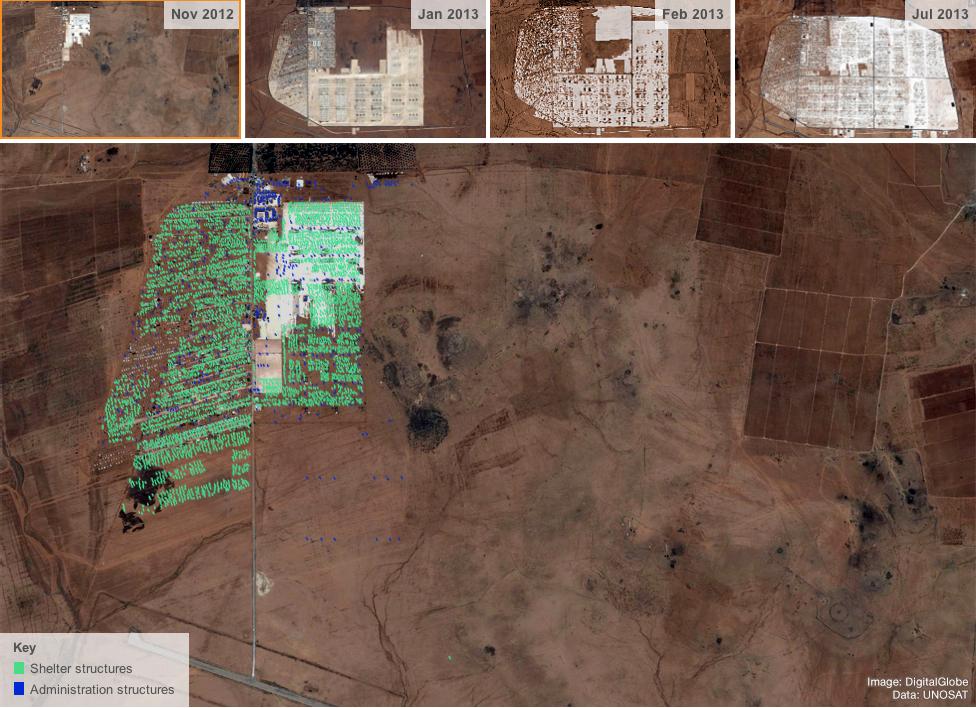 Zaatari Camp in November 2012
