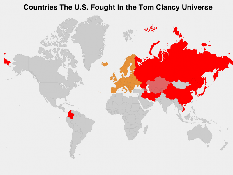 The Clancy Wars