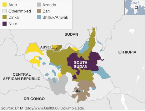Ethnic groups and tribes of South Sudan