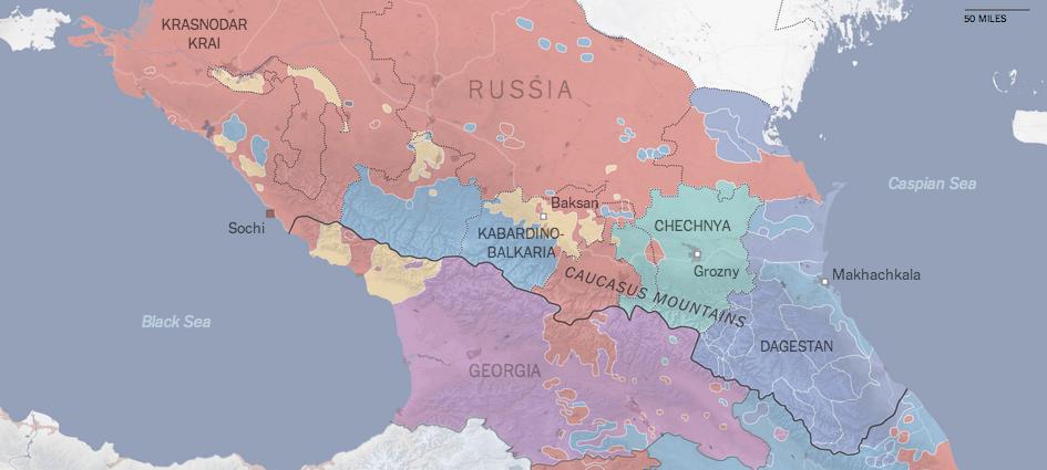 The linguistics of the Caucasus