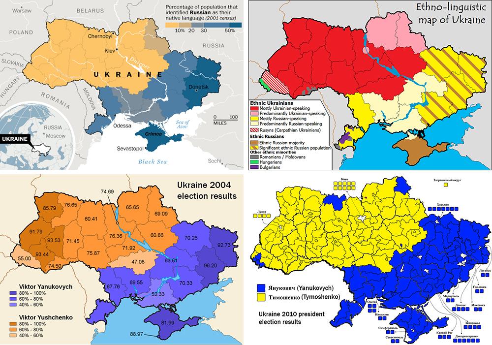 A divided Ukraine