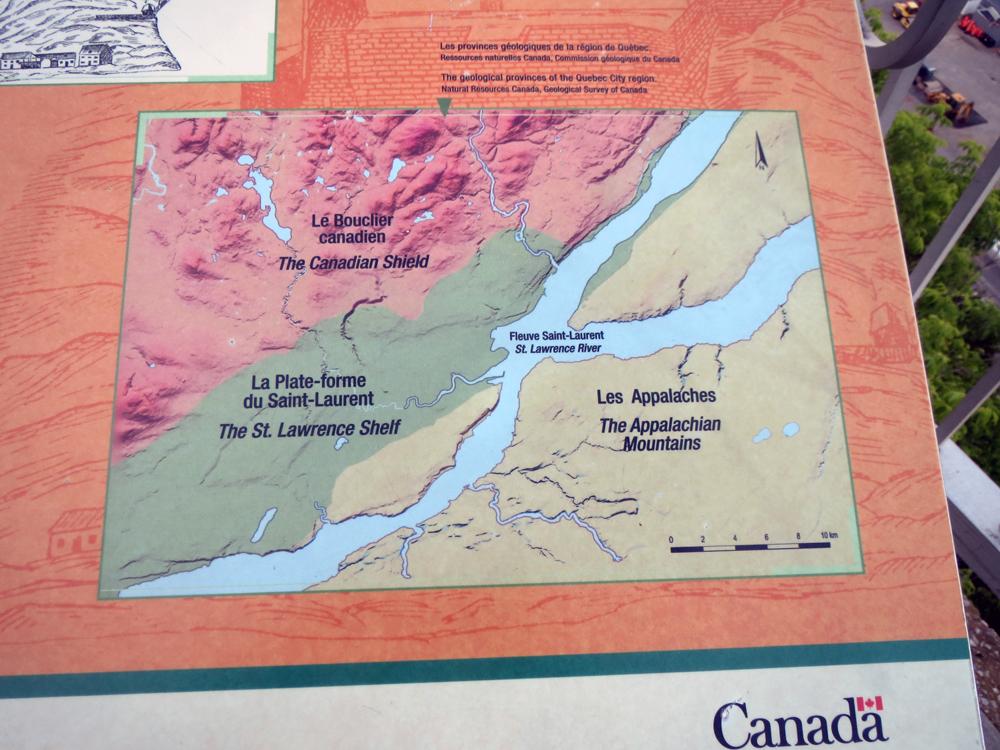 The geology of Québec