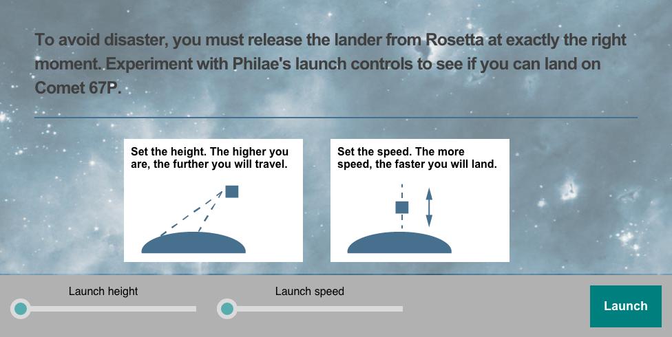 Landing Philae