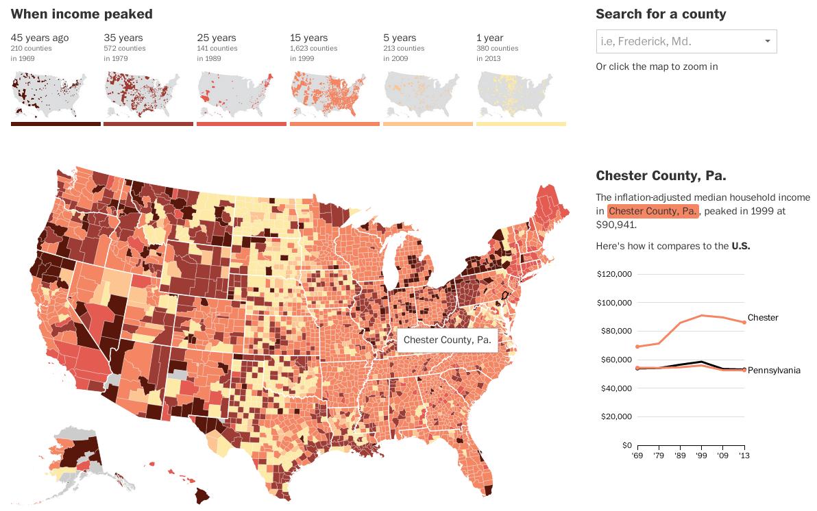 Income map