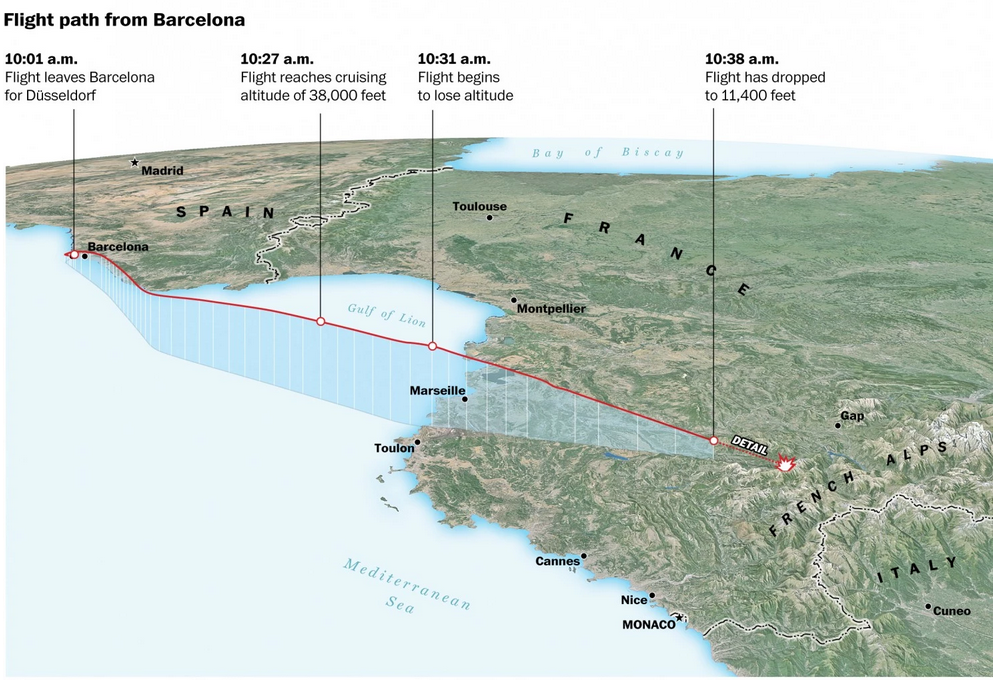 The Washington Post's explainer map