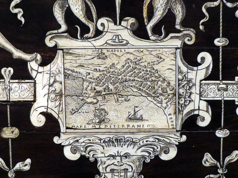 The detail for Naples