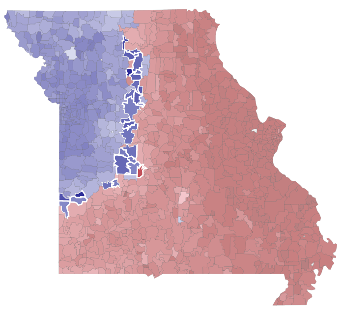 Missouri is a little more blue these days