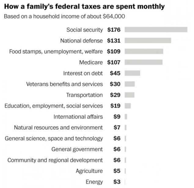 The government-is-a-household budget