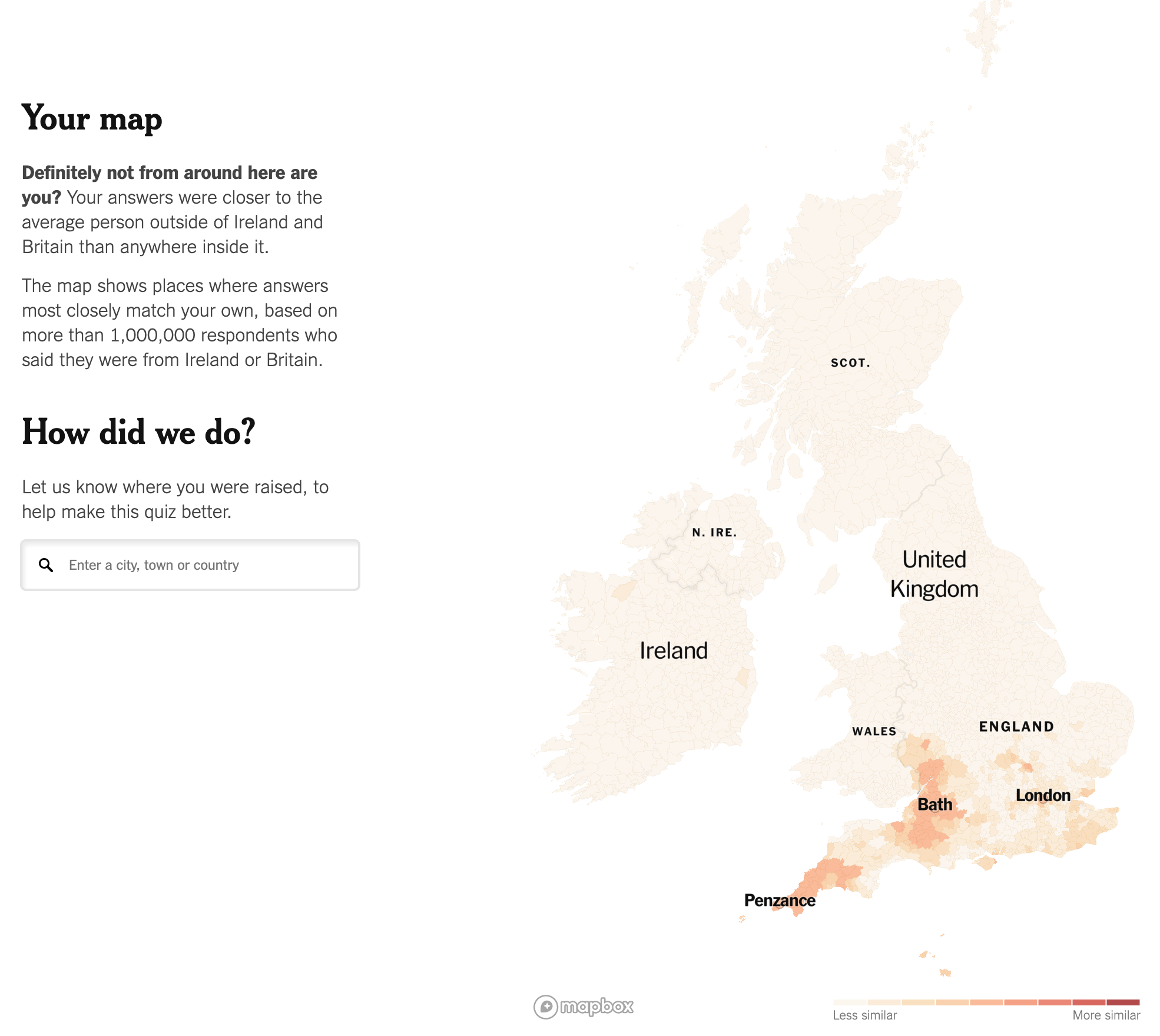 Maybe I'm secretly Cornish?