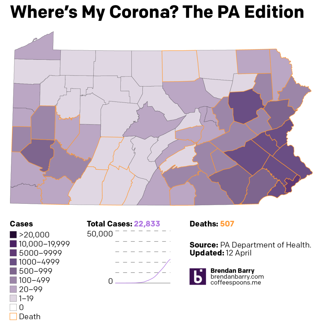 The situation in Pennsylvania