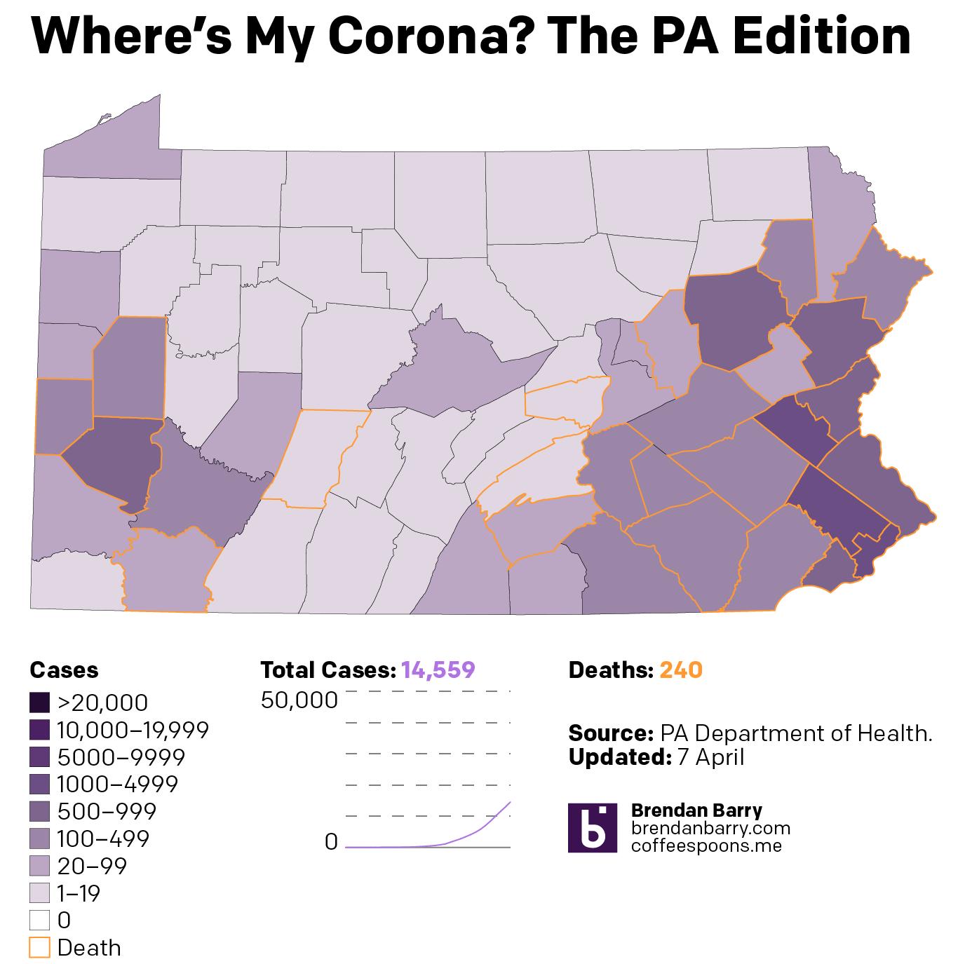 The condition in Pennsylvania